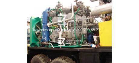 Компрессор передвижной азотный 5/220