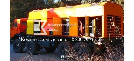 Компрессор передвижной азотный 10/101