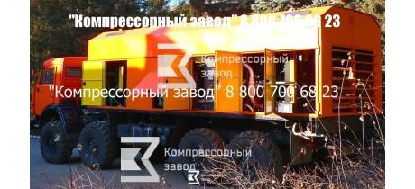 Компрессор передвижной воздушный 25/41
